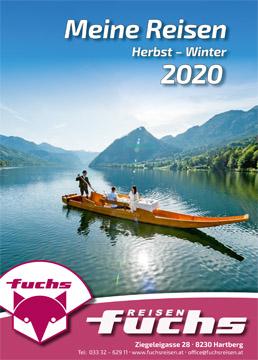 Reisekatalog Herbst-Winter 2020